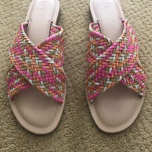 Loft Summer Sandals. Brand new never worn Size 9
